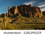 Sunset  Flat Iron Mountain ...