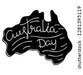 australia day celebration.... | Shutterstock .eps vector #1281395119