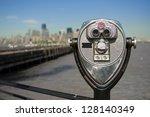 Tourist Binoculars At Liberty...
