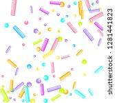 sprinkles grainy. sweet... | Shutterstock .eps vector #1281441823
