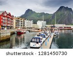 svolvaer  norway   july 26 ... | Shutterstock . vector #1281450730