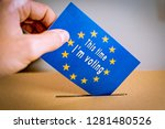 election in european union  ... | Shutterstock . vector #1281480526