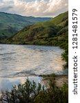 USA, Idaho, Columbia River Basin, Snake River Basin, Salmon River Canyon (tributary to Snake River), between Grangeville and Riggins