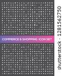 e commerce and shopping vector... | Shutterstock .eps vector #1281562750