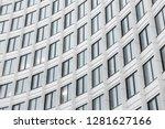 facade fragment of modern... | Shutterstock . vector #1281627166