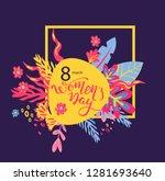 banner for the international... | Shutterstock .eps vector #1281693640
