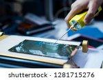 phone screen repair | Shutterstock . vector #1281715276