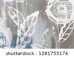 new clear cut picture in light... | Shutterstock . vector #1281755176