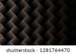 black brown halftone dotted... | Shutterstock .eps vector #1281764470