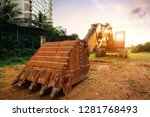 construction of a multistory... | Shutterstock . vector #1281768493