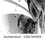 abstract texture with church.... | Shutterstock . vector #1281769003