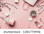 cosmetic and skin care concept. ... | Shutterstock . vector #1281774946