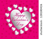 valentine's day | Shutterstock .eps vector #128180426