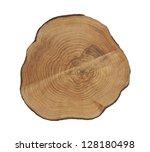 Cross Section Of Tree Stump...