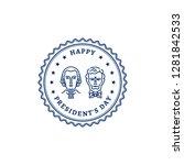 Happy Presidents Day Stamp Ico...