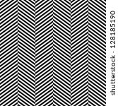 black and white herringbone... | Shutterstock .eps vector #128185190