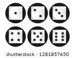 vector illustration of white... | Shutterstock .eps vector #1281857650