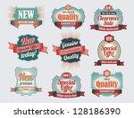 premium quality   guarantee... | Shutterstock .eps vector #128186390