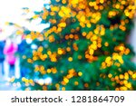 abstract christmas background... | Shutterstock . vector #1281864709