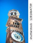 torre dei lamberti in piazza... | Shutterstock . vector #1281864739