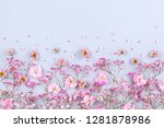 spring floral composition made... | Shutterstock . vector #1281878986