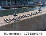 rotterdam  netherlands  ... | Shutterstock . vector #1281884143