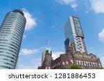 rotterdam  netherlands   sept 3 ... | Shutterstock . vector #1281886453