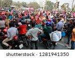 dhaka  bangladesh   january 12  ... | Shutterstock . vector #1281941350