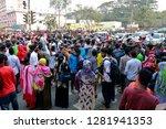 dhaka  bangladesh   january 12  ... | Shutterstock . vector #1281941353