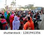 dhaka  bangladesh   january 12  ... | Shutterstock . vector #1281941356