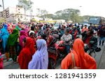 dhaka  bangladesh   january 12  ... | Shutterstock . vector #1281941359