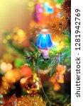 feast of christmas. amazing...   Shutterstock . vector #1281942769