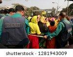 dhaka  bangladesh   january 12  ... | Shutterstock . vector #1281943009