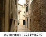town jelsa on island of hvar ...   Shutterstock . vector #1281946240