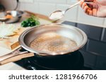 kitchen life hacking   how to... | Shutterstock . vector #1281966706