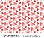 happy valentine's day with... | Shutterstock .eps vector #1281988579