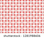 happy valentine's day with... | Shutterstock .eps vector #1281988606