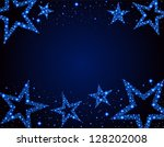 starry background  eps 10  file ... | Shutterstock .eps vector #128202008