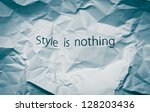 we are stylish  concept for... | Shutterstock . vector #128203436