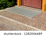 Marble Threshold With A Foot...