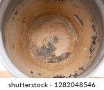 limescale  scale in old kettle. ... | Shutterstock . vector #1282048546