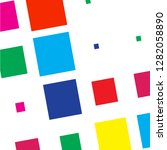 background of abstract squares... | Shutterstock .eps vector #1282058890