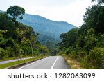 empty road in phu quoc island ... | Shutterstock . vector #1282063099