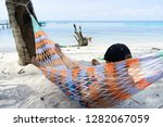8 year old boy resting on the... | Shutterstock . vector #1282067059