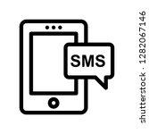 text line icon