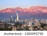 Aaerial View Of Santiago...