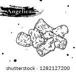 nourishing chinese herbal... | Shutterstock .eps vector #1282127200