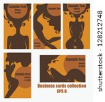 vector collection of business... | Shutterstock .eps vector #128212748