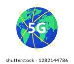 illustration 5g symbol. 5g new...