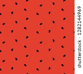 seamless watermelon pattern...   Shutterstock .eps vector #1282144969